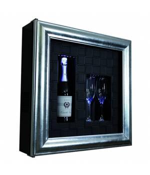 Настенный винный модуль-картина QV12-N3061B