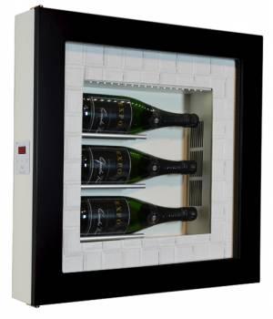 Настенный винный модуль-картина QV30-B1260B
