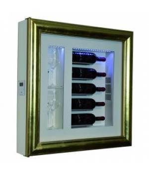 Настенный винный модуль-картина QV52-B3150B