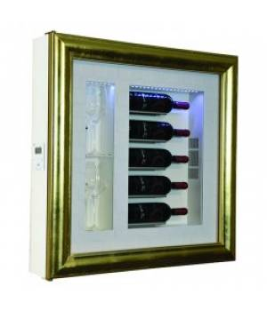 Настенный винный модуль-картина QV52-B3160B